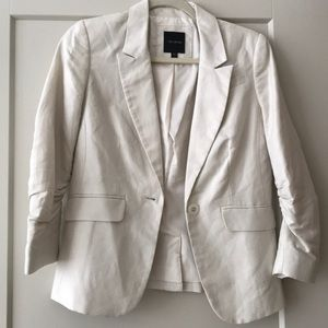 The Limited Linen Blazer